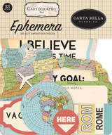 Cartography No. 1 Ephemera