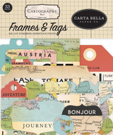 Cartography No. 1 Frames & Tags Ephemera