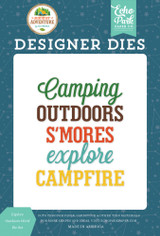 Explore Outdoors Word Die Set