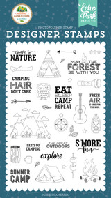 Escape to Nature Stamp