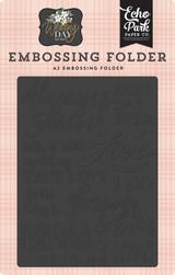 Always & Forever Embossing Folder