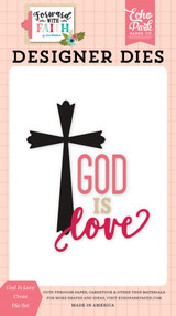 God Is Love Cross Die Set