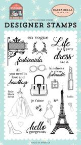 Fashionista Stamp Set