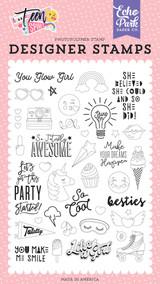 You Glow Girl Stamp Set