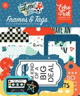 Teen Spirit Boy Frames & Tags Ephemera