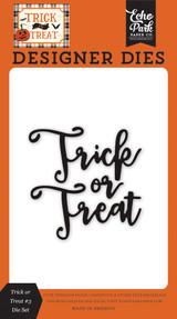 Trick or Treat #3 Word Die Set