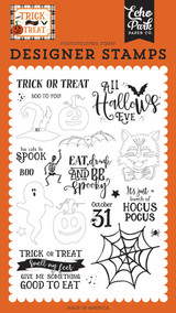 All Hallows Eve Stamp