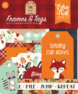 My Favorite Fall Frames & Tags Ephemera