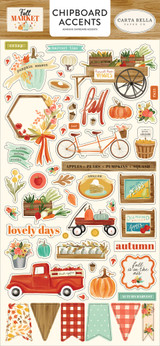 Fall Market Chipboard Accents