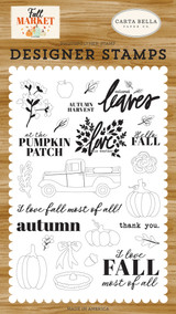 Autumn Harvest Stamp Set