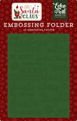 Christmas Cheer Embossing Folder