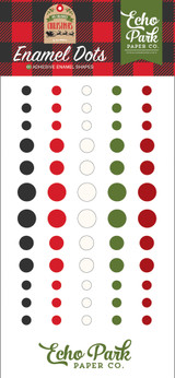 My Favorite Christmas Enamel Dots