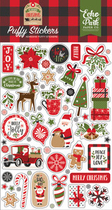 My Favorite Christmas Puffy Stickers