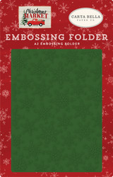 Market Snow Embossing Folder