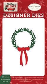 Christmas Wreath & Bow Die Set