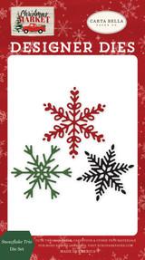 Snowflake Trio Die Set