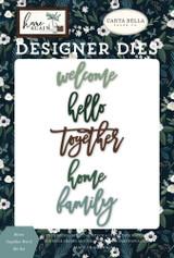 Home Together Word Die Set
