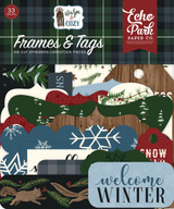 Warm & Cozy Frames & Tags Ephemera