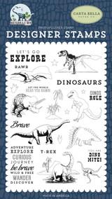 Dinos Rule Stamp