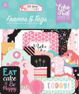 It's Your Birthday Girl Frames & Tags Ephemera