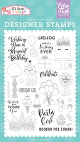 Birthday Girl Stamp