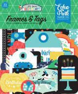 It's Your Birthday Boy Frames & Tags Ephemera