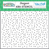 Celebrate Confetti Stencil