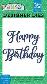 Happy Birthday Boy #2 Word Die Set