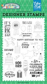 Birthday Boy Stamp Set