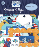 Fish Are Friends Frames & Tags Ephemera