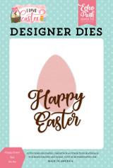 Happy Easter Egg #1 Die Set