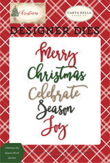 Celebrate The Season Word Die Set