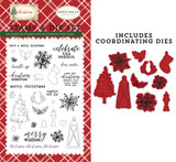 Christmas Memories Die/Stamp Set