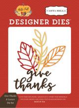Give Thanks & Leaves Die Set