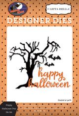 Happy Halloween Tree Die Set