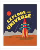 Explore the Universe 8x10 Art Print