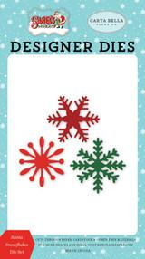 Santa Snowflakes Die Set