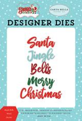 Jingle Bells Word Die Set