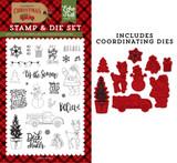Deliver Christmas Die/Stamp Set