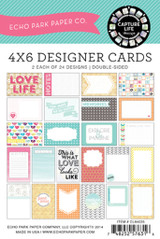 Capture Life 4x6 Journal Card Pack