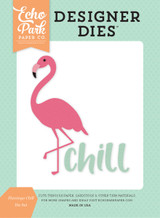 Flamingo Chill Die Set