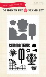 Summer Days Die/Stamp Set