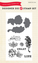 Things Grow Better with Love Die/Stamp Set
