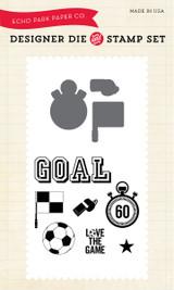 Soccer Die/Stamp Set