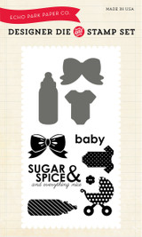 Sugar & Spice Die/Stamp Set