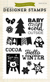 Snow Cold 4x6 Stamp