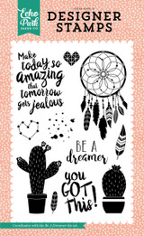 Be a Dreamer 4x6 Stamp