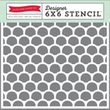 Seashells 6x6 Stencil