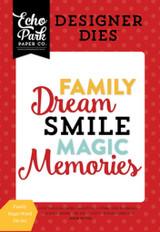 Family Magic Word Die Set