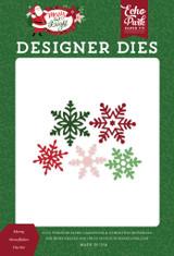 Merry Snowflakes Die Set